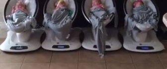 Solução tecnológica que atendeu bem uma mãe de quadrigêmeos.
