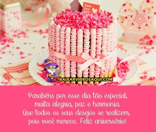 feliz aniversario amiga tumblr com bolo